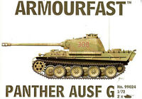 Armourfast 1/72 Panther Ausf. G 2 snap together kits # 99024