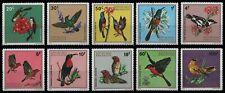 Ruanda 1972 - Mi-Nr. 500-509 ** - MNH - Vögel / Birds