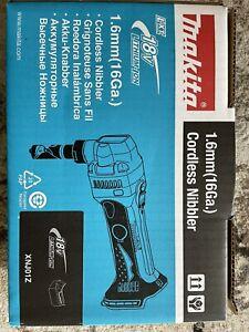 Makita XNJ01Z 18V LXT Cordless 16 Gauge Nibbler - Blue (Tool Only)