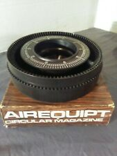 Genuine Vintage Airequipt Circular Magazine 100 Slide Tray Used