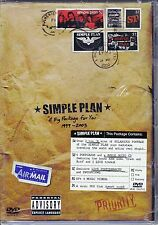 Dvd **SIMPLE PLAN • A BIG PACKAGE FOR YOU** nuovo 2004