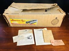 American Flyer 4611 BOX ONLY Vintage Train Manual Instruction Booklet