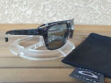 Oakley Holbrook LX asian fit dark grey tortoise / light grey polarized rare