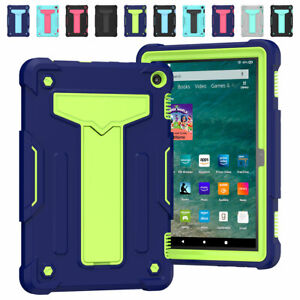 For Amazon Fire HD 8 2020 10th Gen HD 8 Plus Rugged Hard Stand Tablet Case Cover