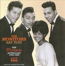 "MONITORS  ""SAY YOU""  THE MOTOWN ANTHOLOGY 1963-1968"