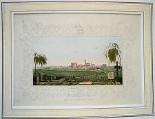Wismar  Mecklenburg - Vorpommern altkolorierte  Lithographie 1843