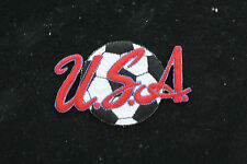 USA SOCCER BALL PATCH AYSO MLS USA WOMENS SOCCER TEAM OLYMPICS HOPE SOLO