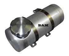 4x12 END FILL SPUN ALUMINUM GAS TANK - .58 GALLON - 1/4 NPT OFFSET OUTLET BUNG