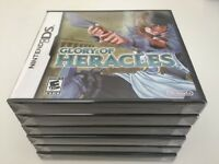 Glory of Heracles (Nintendo DS, 2010) DS NEW!
