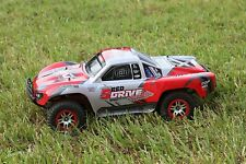 Traxxas Truck Car Body Red 1/10 Slash 4x4 VXL 2WD Slayer Shell Cover Baja 6811