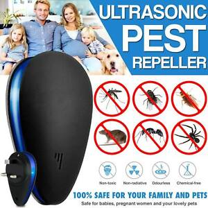 Ultrasonic Pest Repeller Electronic Insect Mosquito Killer Rat Mouse Mice Spider