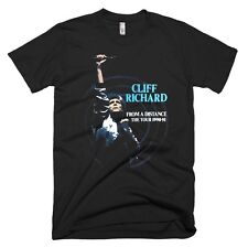 CLIFF RICHARD Black From A Distance 1990-91  AUS & NZ Tour  Med. fits like LARGE