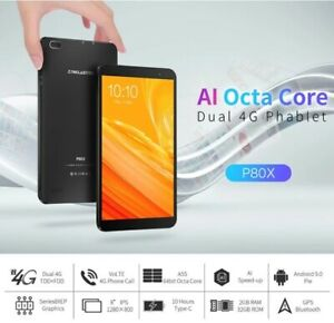 Teclast P80X SC9863A Octa Core 2G RAM 32G ROM 4G LTE 8 Pollici Android 9.0 Table