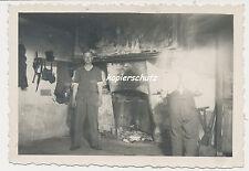 Foto Polen-Soldaten Wehrmacht -Unterkunft 2.WK  (U901)