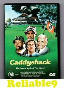 Lesley Nielsen - Caddyshack DVD+Special features Region 4 - 1980/2000 Warner AUS