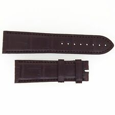 VACHERON CONSTANTIN BROWN LEATHER CROCODILE  FINISH 23MM WATCH STRAP