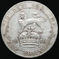 1916 | George V One Shilling | Silver | Coins | KM Coins