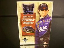 Rare Brian Vickers #25 Ditech.com Press Pass Optima YOUNG GUNS 2004 Card #51