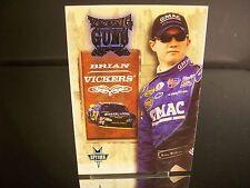 Rare Brian Vickers #25 Ditech.com Press Pass Optima YOUNG GUNS 2004 Card #51