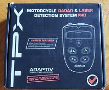 ADAPTIV TECHNOLOGIES TPX PRO 3.0 MOTORCYCLE RADAR AND LASER DETECTOR P-01-01