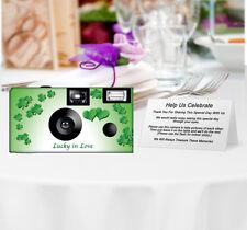 10 Lucky in Love Disposable Camera, Single Use Cameras, Wedding Cameras