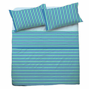 Set Bed Pompea Tidy Sheets Above Under with Corners Pillowcase Green