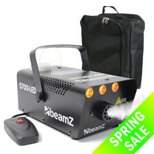 Smoke Machine Fog Mist Effect LED Flame 700W & Gearsak Accessory Carry Bag