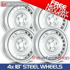 "4 x 18"" Full Size Steel Wheels for VW Amarok - 2010 on - Free Delivery"