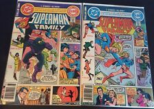 Superman Family #202, 203 DC Comics Supergirl Lois Lane 1980 F+ & NM