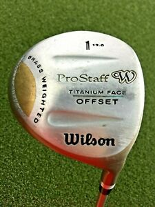 Wilson ProStaff Titanium Face Offset Driver 12* / RH / Ladies Graphite / gw5480