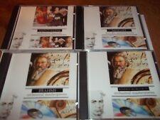 4 Classical Collections cd Mozart Rimsky-Korsakov Brahms Saint-Saens FREE POST