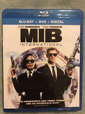 Mib Men in Black International Blu-ray + Dvd *Pre-owned