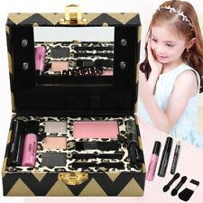 Princess Makeup Set Kids Toy Cosmetic Pretend Play Kit Eyeshadow Lip Gloss Blush
