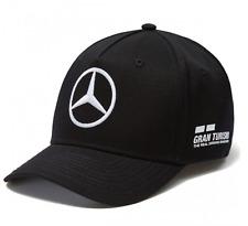 CAP Hamilton Curved Peak Formula One 1 Mercedes AMG Petronas F1 NEW! Black
