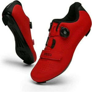 Professional Men Cycling Shoes Spin Peloton Riding Road SPD Bike Sports Sneakers