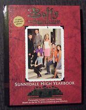 1999 BUFFY THE VAMPIRE SLAYER Sunnydale High Yearbook HC VF 8.0 Pocket