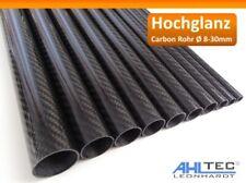 Hochglanz Carbon Rohr Ø 8-30mm / CFK Tube 3K Köper 1000mm / Hobbyline