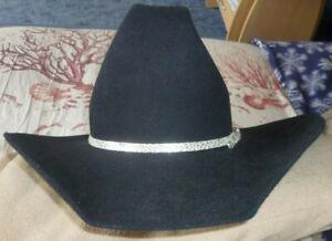 Showhut schwarz (Akubra) Australien mit sterling Hutband