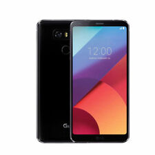 "UNLOCKED Móvile 5.7"" LG G6 VS988 32GB 3G/4G LTE Verizon 13MP Android 7.0 - Negro"