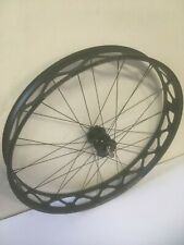 "Custom Front 26"" Fat Bike Wheel QR 135mm Spacing Mulefut Rim SON 28 Dynamo Hub"