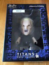 "Buffy The Vampire Slayer Vinyl Titans Spike 4.5"" Action Figure Nib New Exclusive"