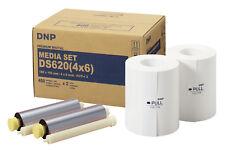 """DNP DS620 Media Set 4x6"""" (10x15 cm) 800 Ausdrucke Prints DS 620 Mediaset Drucke"""