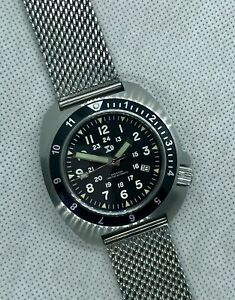 TC-9  Automatic Divers Watch - 300m WR - Seiko Movement. Turtle Design