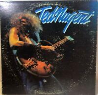 TED NUGENT SELF TITLED Vinyl 1975 Epic Records Orange Label PE 33692