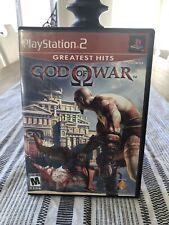 God of War (Sony PlayStation 2, 2005) Greatest Hits PS2 with Manual