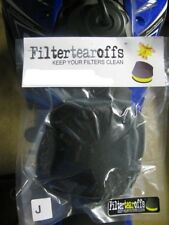 Filtertearoffs Airfilter Filterskins Air Filter Tear Offs Foam Oil Air Filters