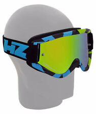 HZ GOOGLES OCCHIALE GMZ 1 VICTORY LIME MOTO CROSS ENDURO MTB SCI MASCHERINA