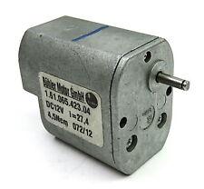 Bühler Getriebemotor 12V superslow nur 4,8 Upm 1.61.065.450  1 Stück
