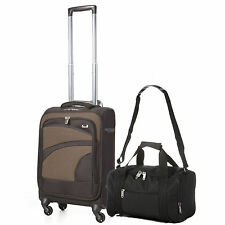 Luggage Sets with Telescopic Handle and Spinner (4) Wheels