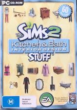 The SIMS 2 Kitchen & Bath Interior Design Stuff ( Pre - Owned ) PC CD - ROM.
